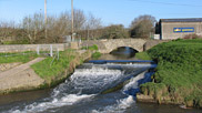 The weir at Velator, 2007