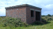 RAF Wrafton. The generator-house on the intermediate site. Courtesy of Mike Passmore.